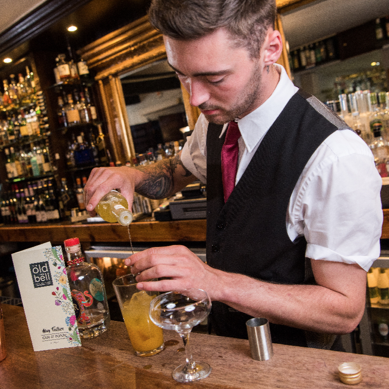 Gin Master Classes at The Old Bell Inn at Delph, Saddleworth.